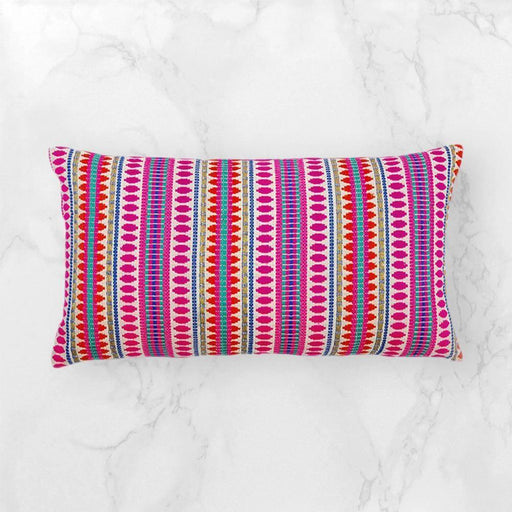 Pink Capsule Cushion Cushion - The Artisen