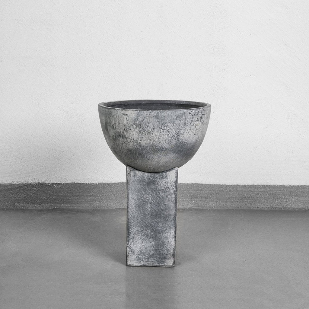 Block Vase Grey Mini