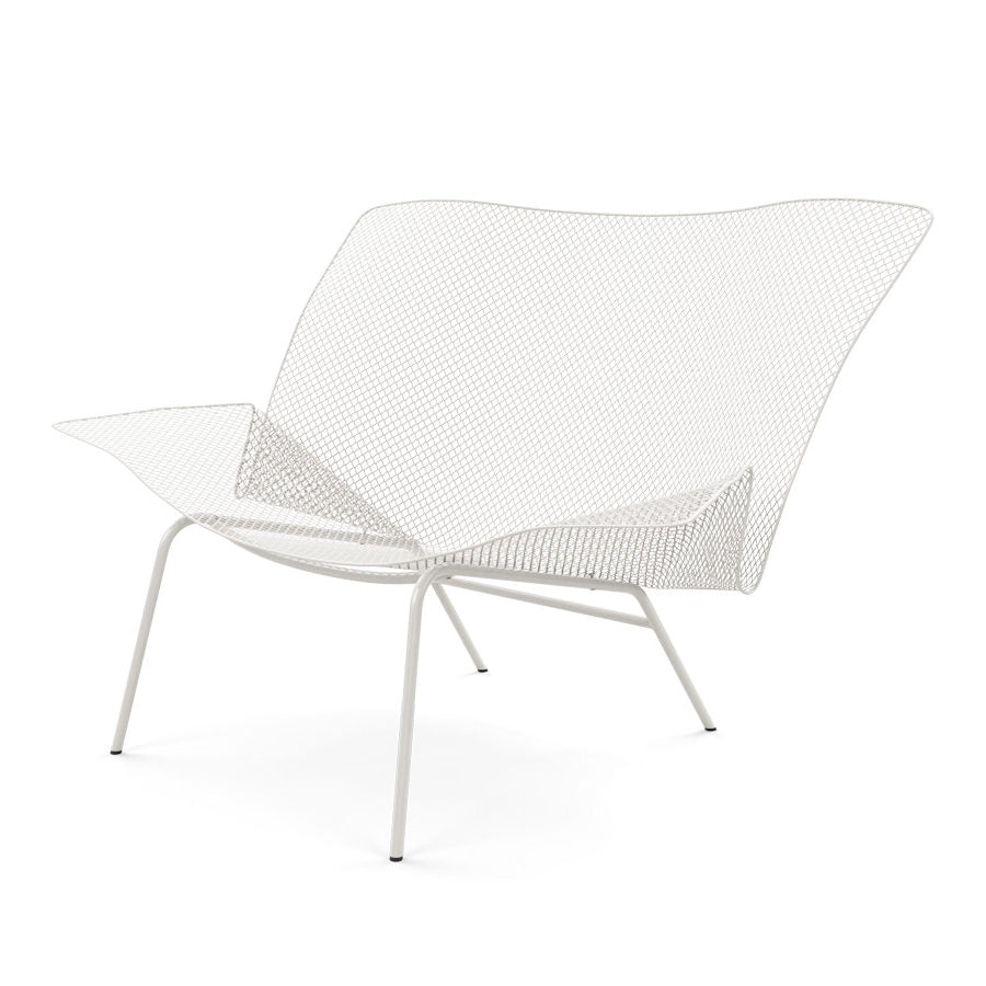 Grillage Chair White
