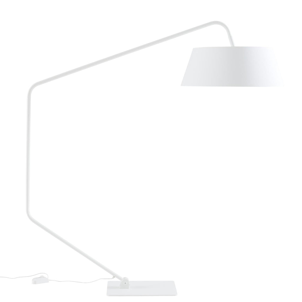 Bul Floor Lamp White