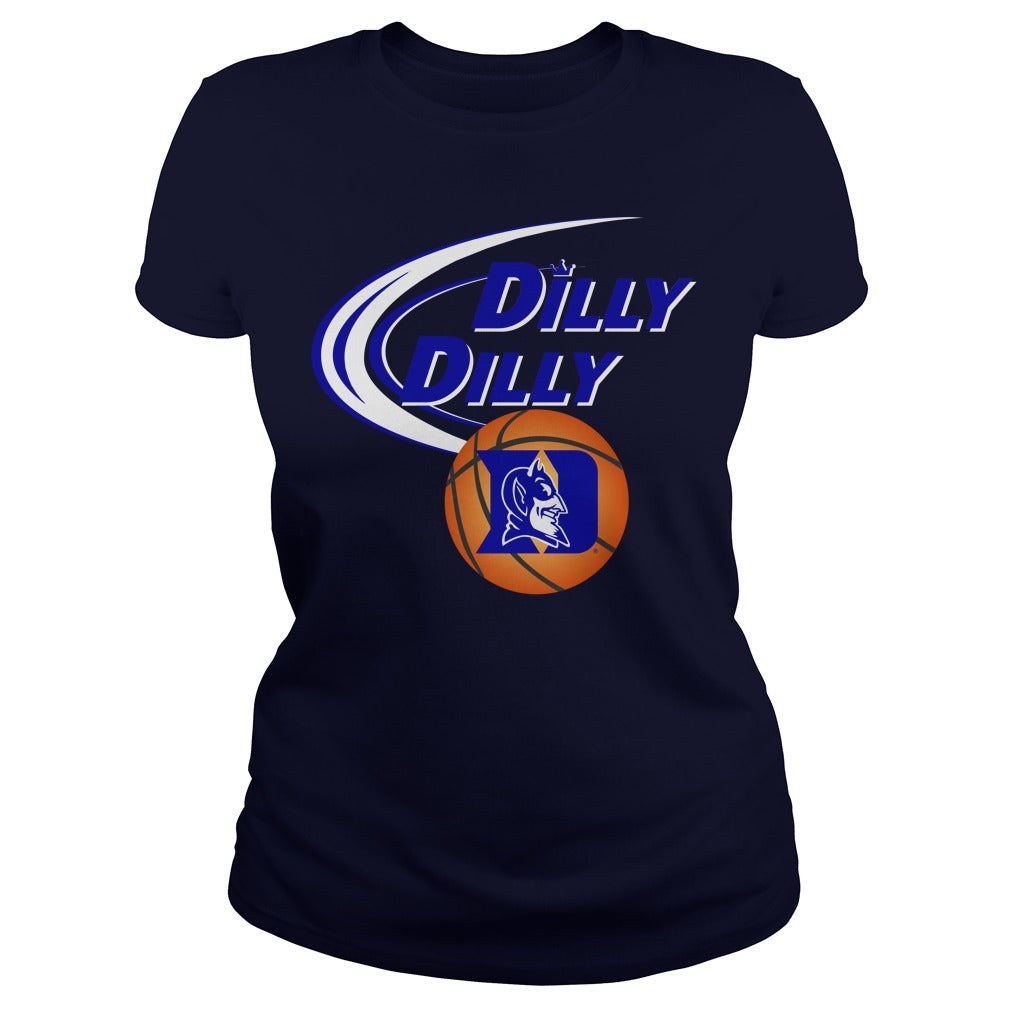 newest 80b7c c9faf Dilly Dilly Duke NCAA basketball shirt Women