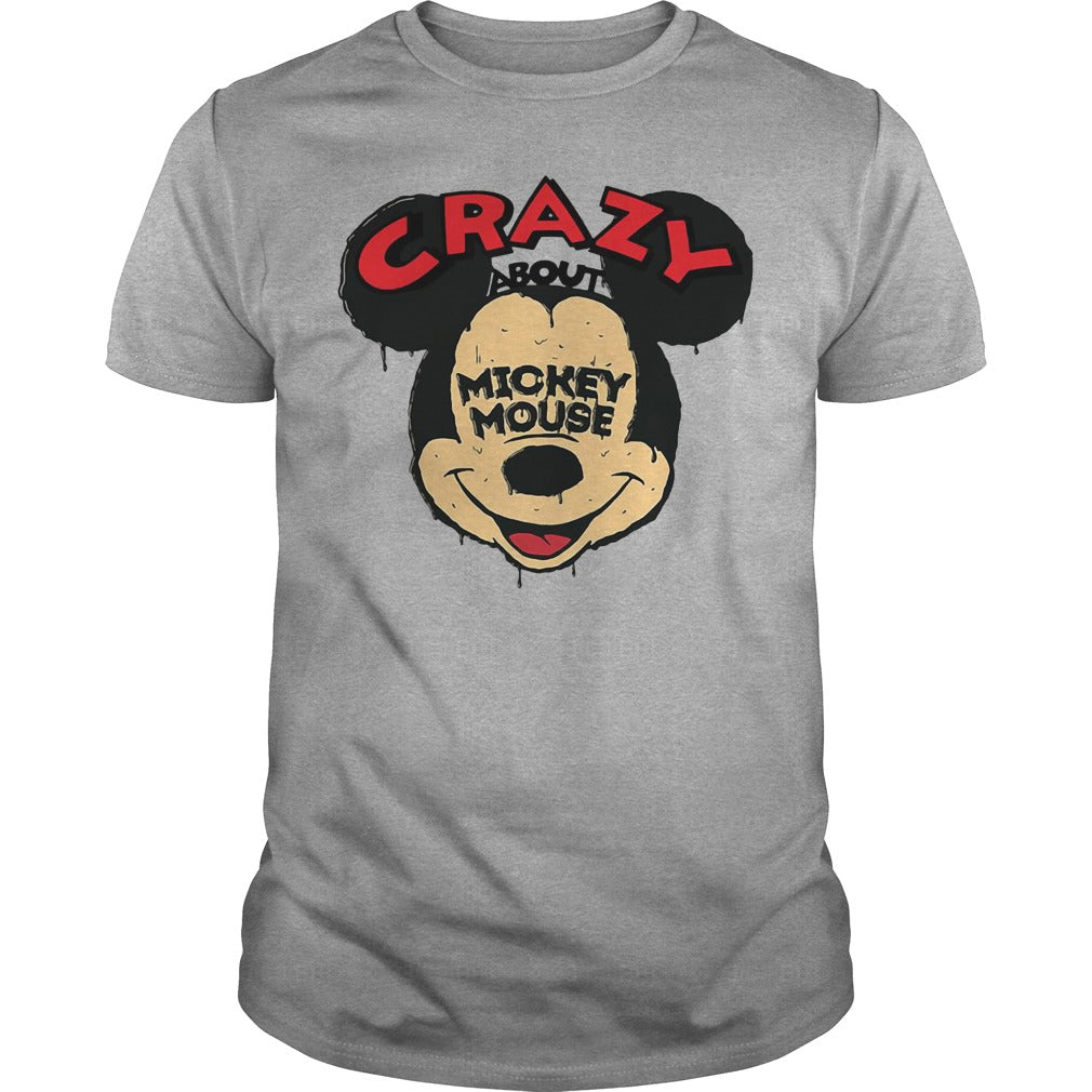 Crazy about Mickey Mouse shirt Men