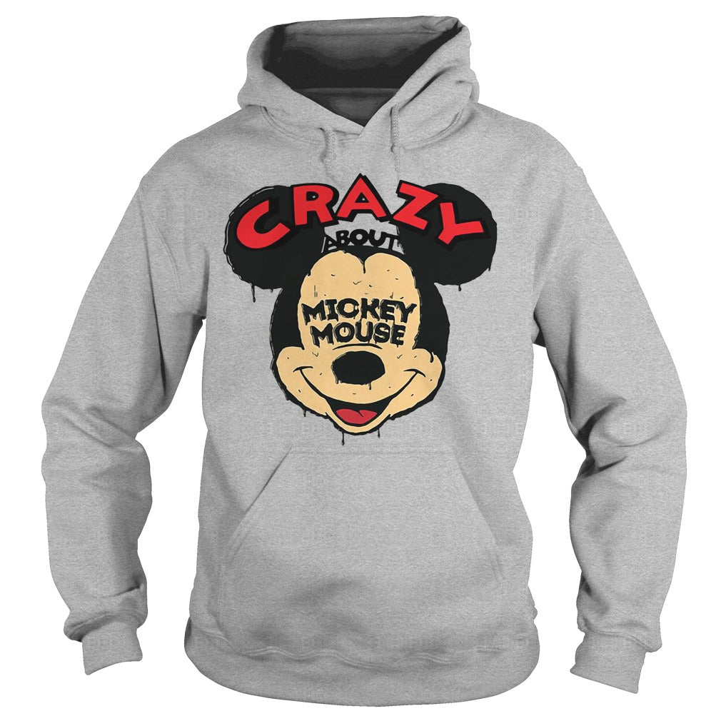 Crazy about Mickey Mouse shirt Hoodie