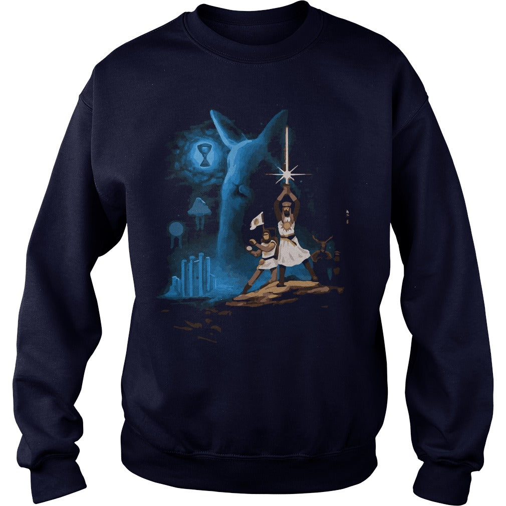 8d152bf01 Monty Python and the Holy Grail shirt SweatShirt - Alottee