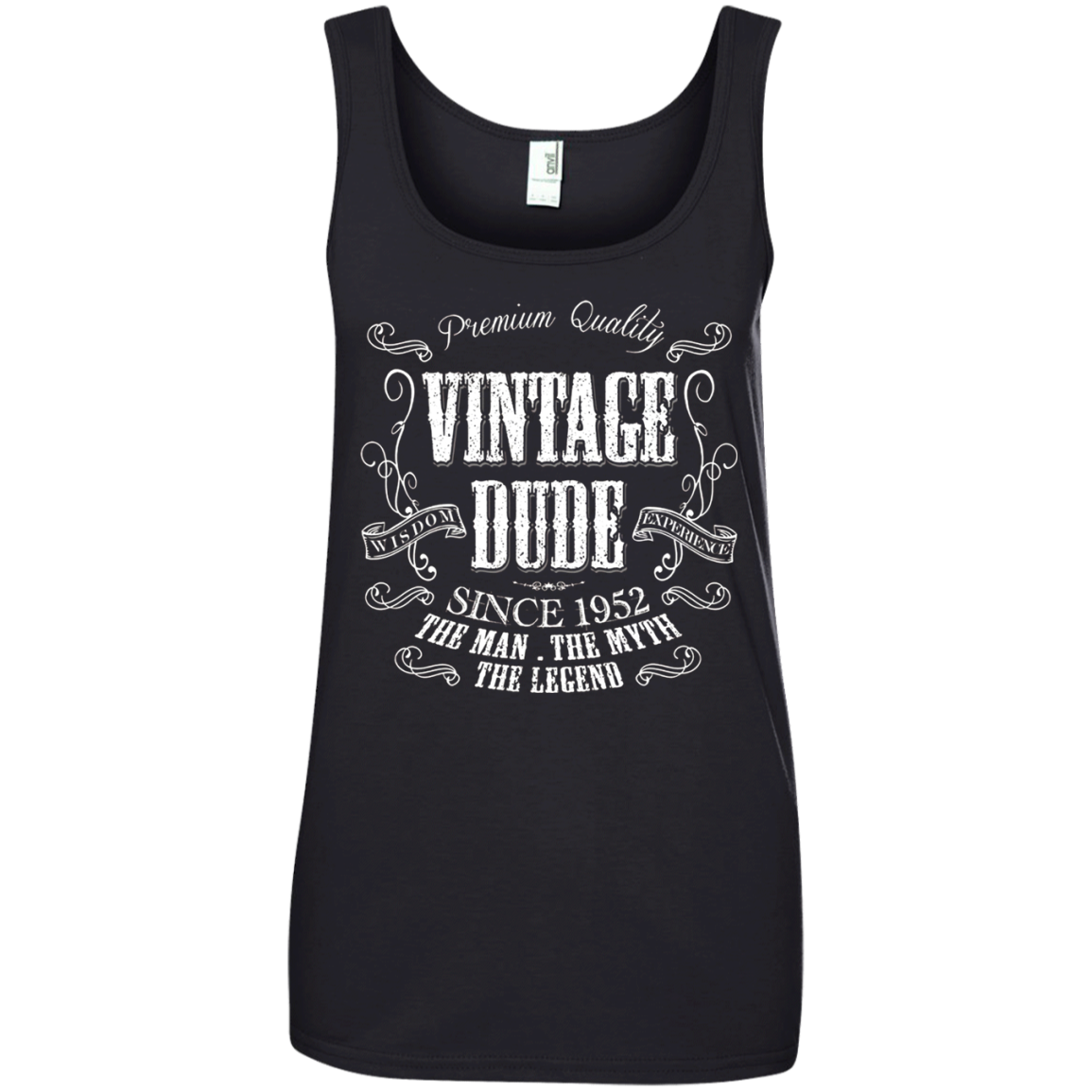 66th Birthday gift shirt Vintage dude 1952 66 year old T shirt hoodie sweater Tank Top 882