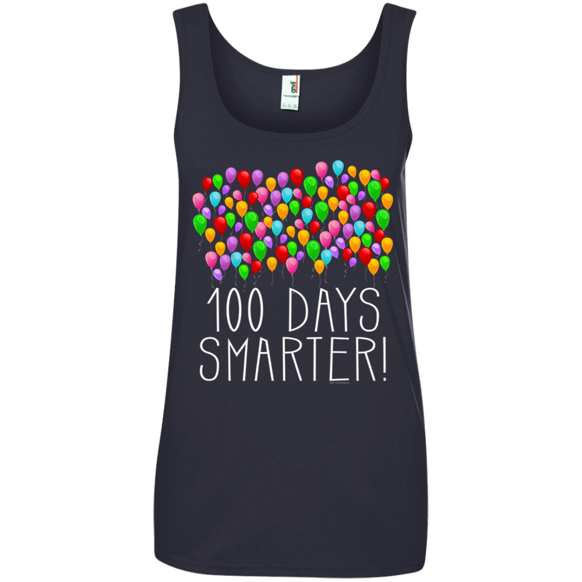 100 Balloons 100th Day of School Teacher Student T shirt hoodie sweater Tank Top 882