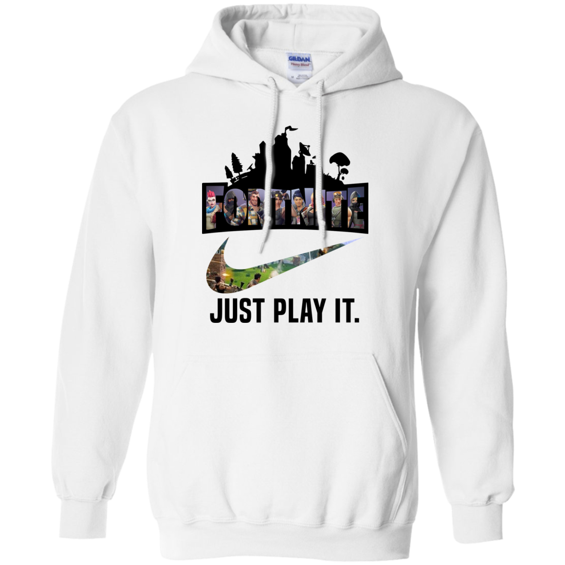Fortnite Game – Just Play It logo nike shirt Hoodie Men