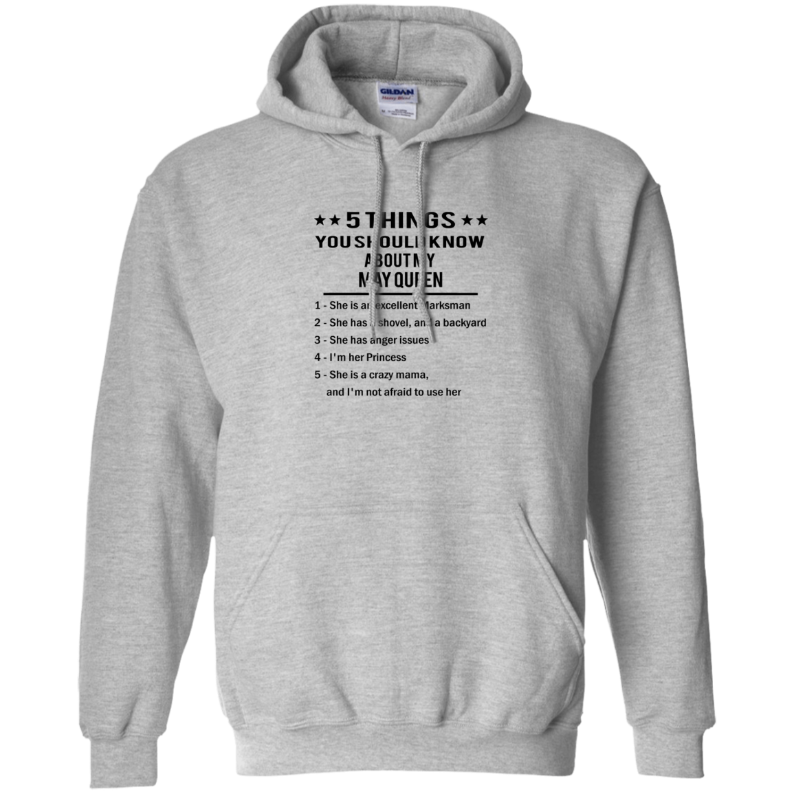 5 Things You Should  Know About My May Queen T shirt Hoodie Sweater Hoodie