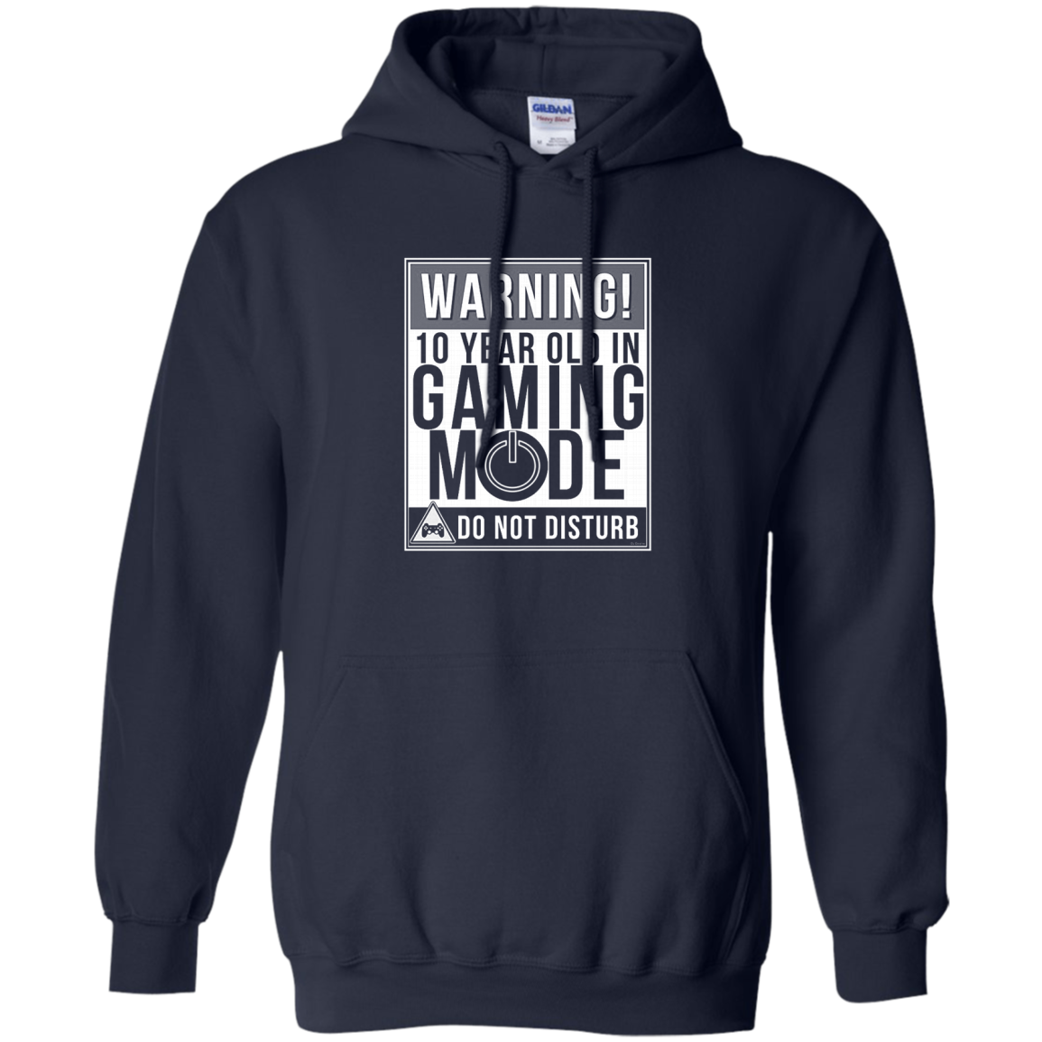 Kids 10th Birthday Shirt Gift Idea For 10 Year Old Gamers T Hoodie Sweater