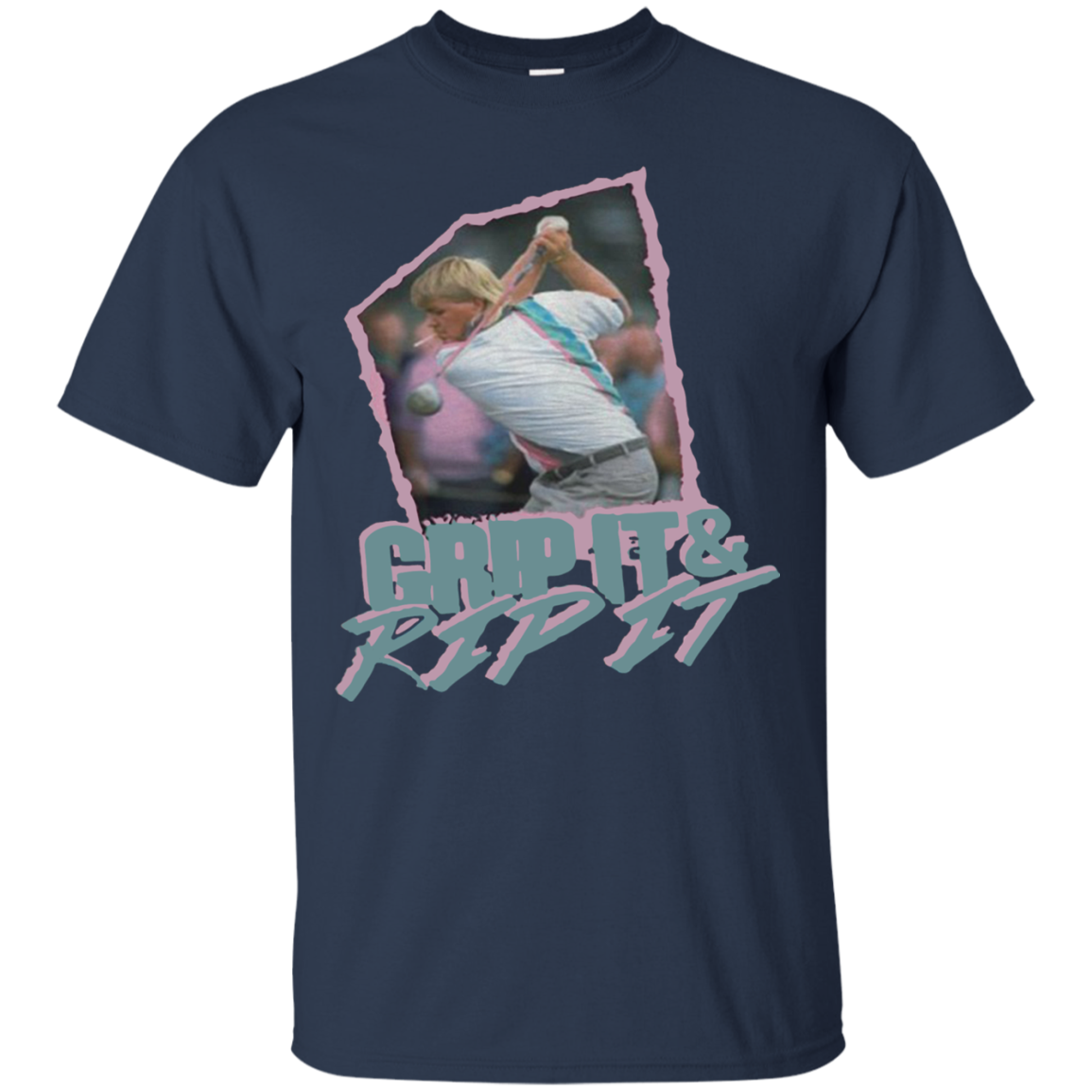John Daly Grip It and Rip It Cotton T Shirt Men