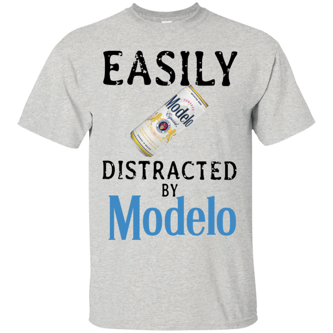 389cf747e Easily distracted by Modelo Especial T shirt hoodie sweater Men ...