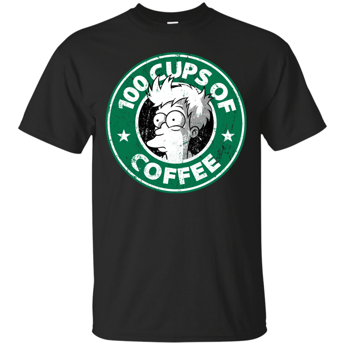 100 Cups Of Coffee T-Shirt Men