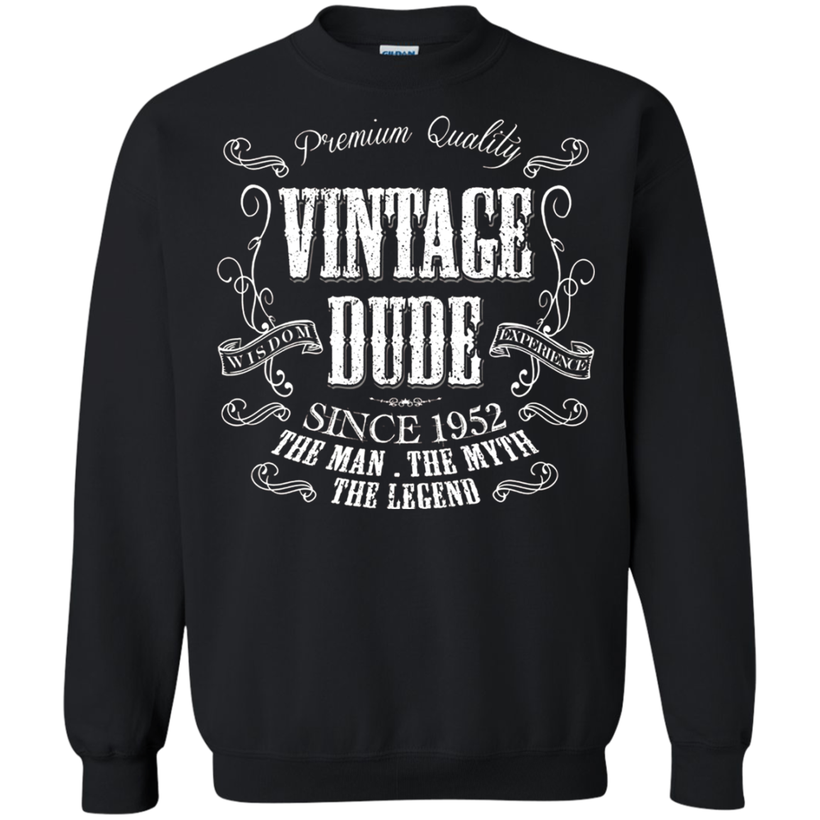 dea8950d 66th Birthday gift shirt Vintage dude 1952 66 year old T shirt ...