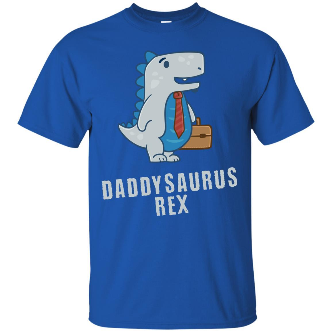 6ba567634 Daddysaurus Rex Papasaurus Funny Dinosaur Shirt for Dad Men - Alottee