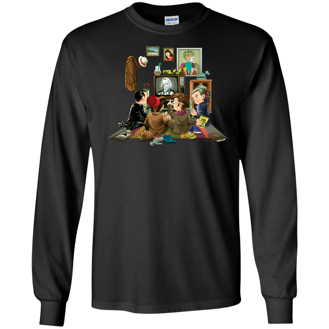 50 Years of The Doctor T-Shirt Long Sleeve 240