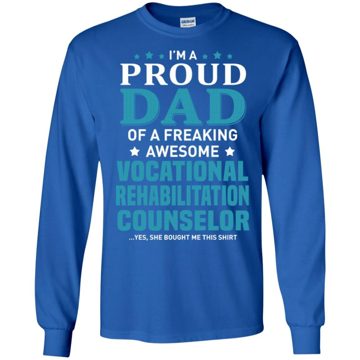 Vocational Rehabilitation Counselor T Shirt Long Sleeve 240 Alottee
