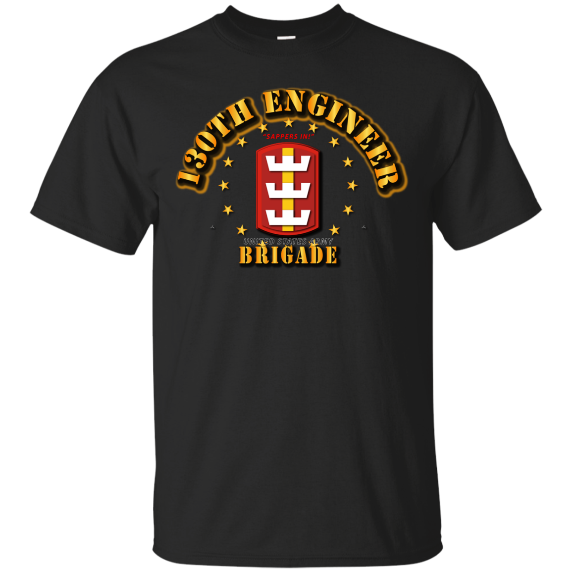 130th Engineer Brigade - SAPPERS IN T-Shirt Men