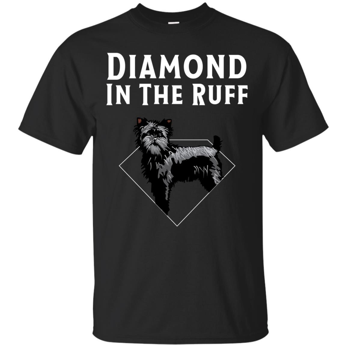 Affenpinscher Diamond in The Ruff Dog Lover T-Shirt Men