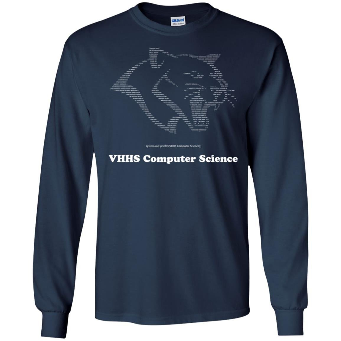 Vhhs Computer Science Shirts T Shirt Long Sleeve 240 Alottee