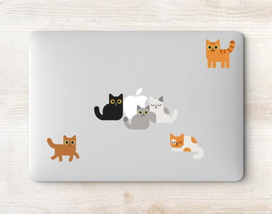 Cats MacBook Decals