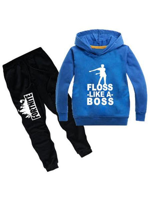 Fortnite Kids Cotton Graphic Hoodie Two Piece Sets