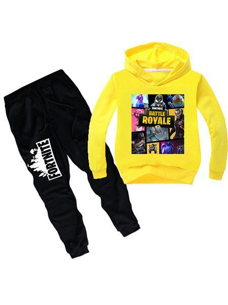 Fortnite Kid's Printed Cotton Two Piece Sets