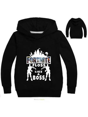 Fortnite Floss Like a Boss Kid's Pullover Hoodie