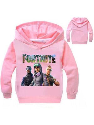 Fortnite Cotton Casual Ptinted Hoodie For Kids