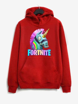 Fortnite Unisex Animal Print Pullover Hoodie
