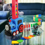 Thomas Domino Train Toy Set with Lights and Sound