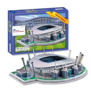 3D Puzzle Model Soccer Stadium