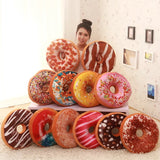 3D Soft New Pillows Case Donuts Cushion Cartoon Dolls Gifts Funny- 12 Colors
