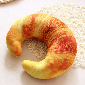 Shrimp & Croissant Cushion