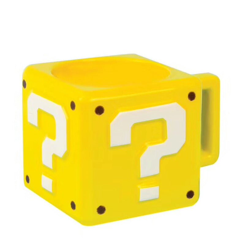 Supper Mario Question Mug
