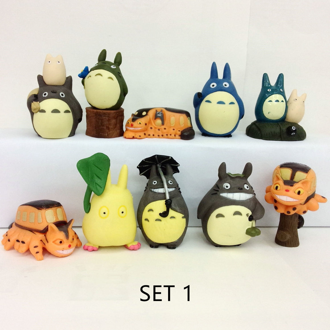 Totoro Mini Action Figures Set