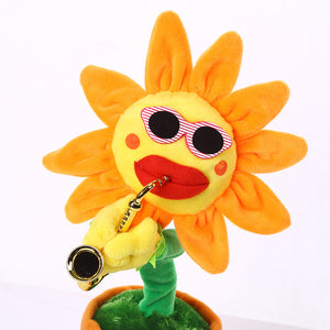Dancing Sun Flower Music Player