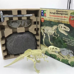 DIY Dinosaur Archaeological Educational Toy