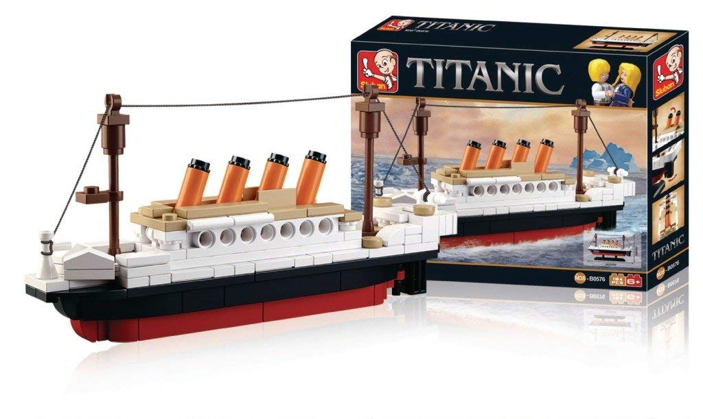 Titanic Building Block Kit 194 Pieces Bricks