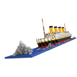 Titanic Building Block Kit 1860 Pieces Bricks