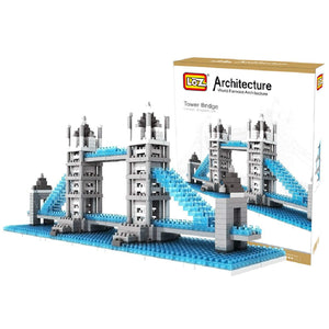 World Famous Architecture Building Blocks Diamond Blocks