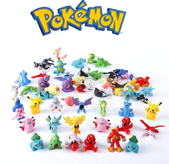 Pokemon Pocket Monster Figures Model Toys Collection