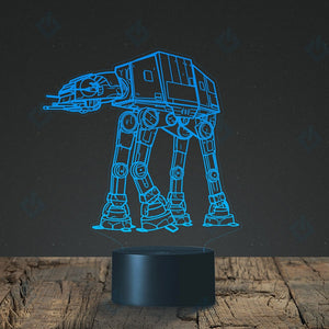 Star Wars 3D Optical Illusion Night Light