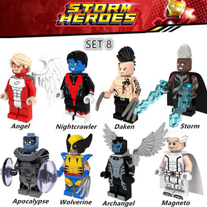 Super Heroes Figures Set - Marvel Comics