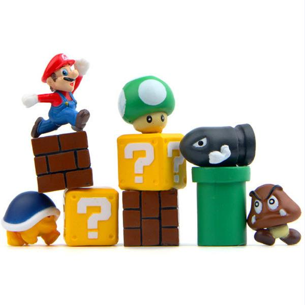 Buy Super Mario fridge magnets