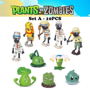 Plants vs. Zombies Action Figures Set