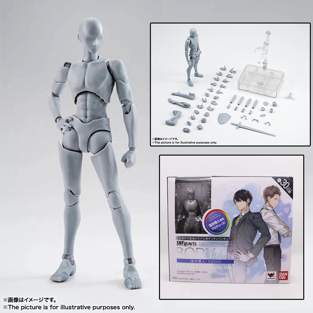 Body Kun DX Set Male & Female