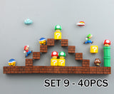 Fridge Magnets - Super Mario Serie