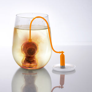 New Silicone Deep Tea Diver Infuser Strainer Loose Leaf Tea Bag Fun