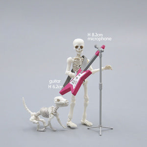 Creative Movable Bones  Pose Skeleton Humans Model Mini Toys Set Fun