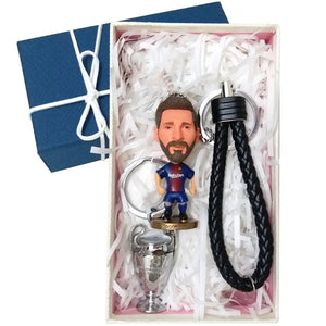 Soccer Star Keychain (Come With Trophy as Bonus)